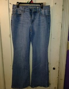 Womans light blue jeans by Faded Glory